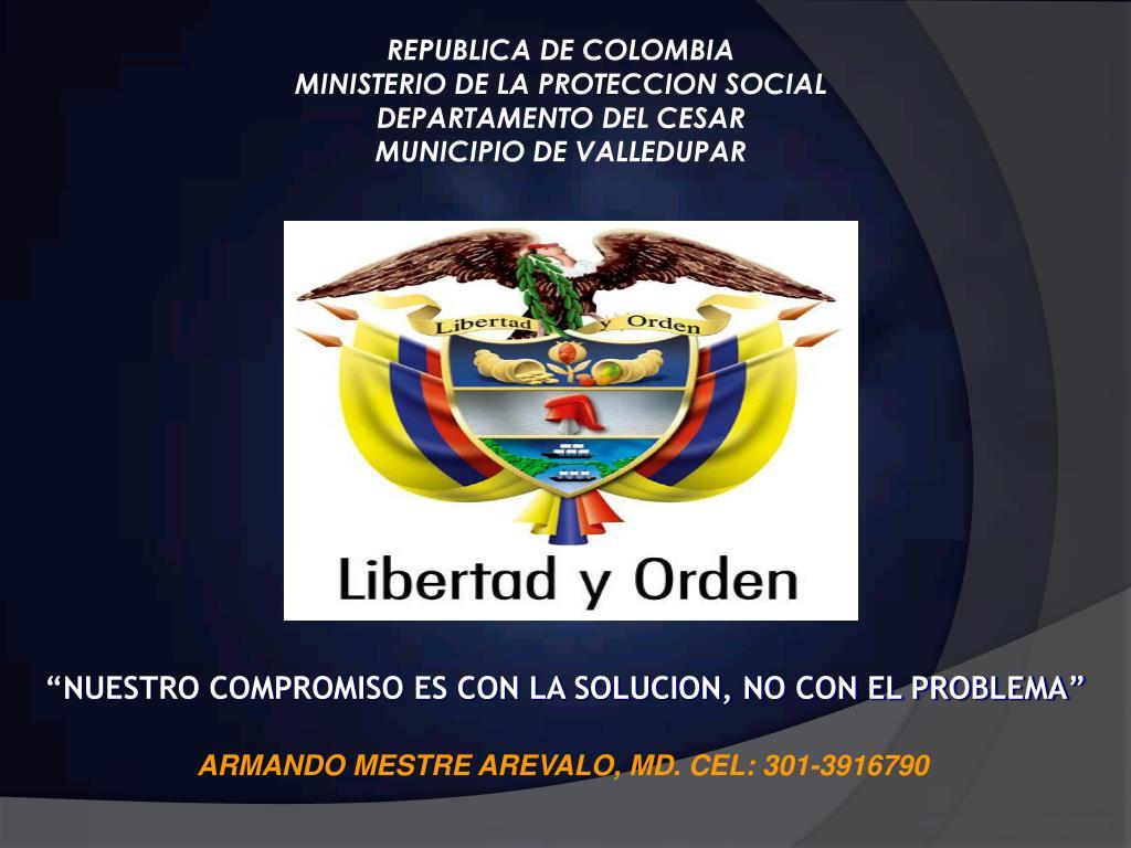 REPUBLICA DE COLOMBIA