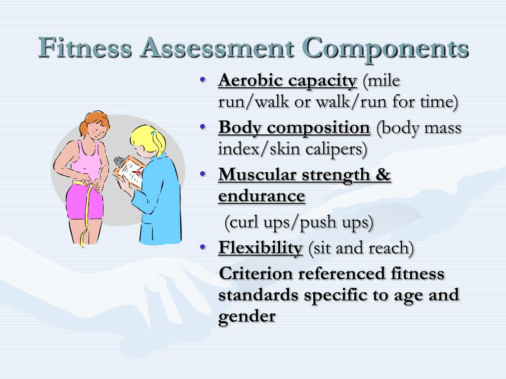 Fitness Assessment Components