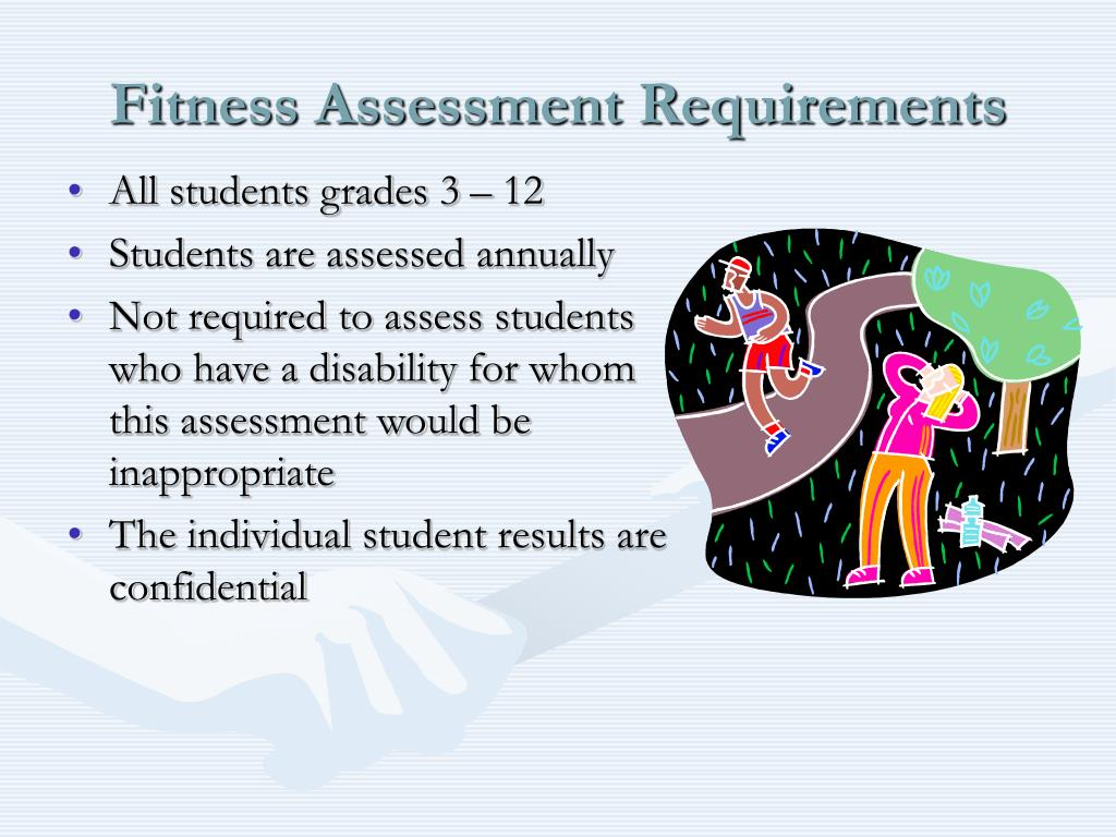 Fitness Assessment Requirements