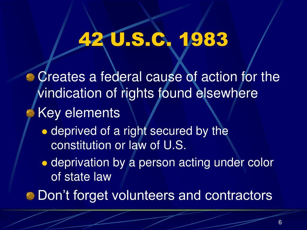 42 U.S.C. 1983