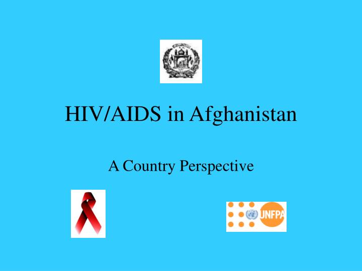 Hiv aids in afghanistan