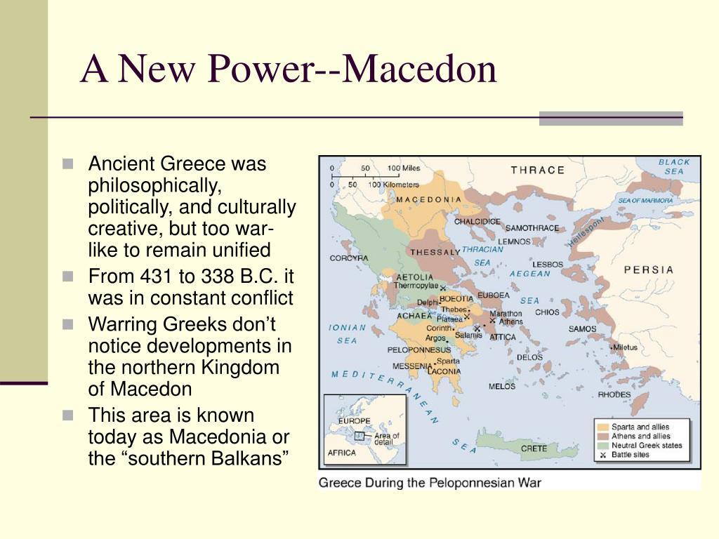 A New Power--Macedon