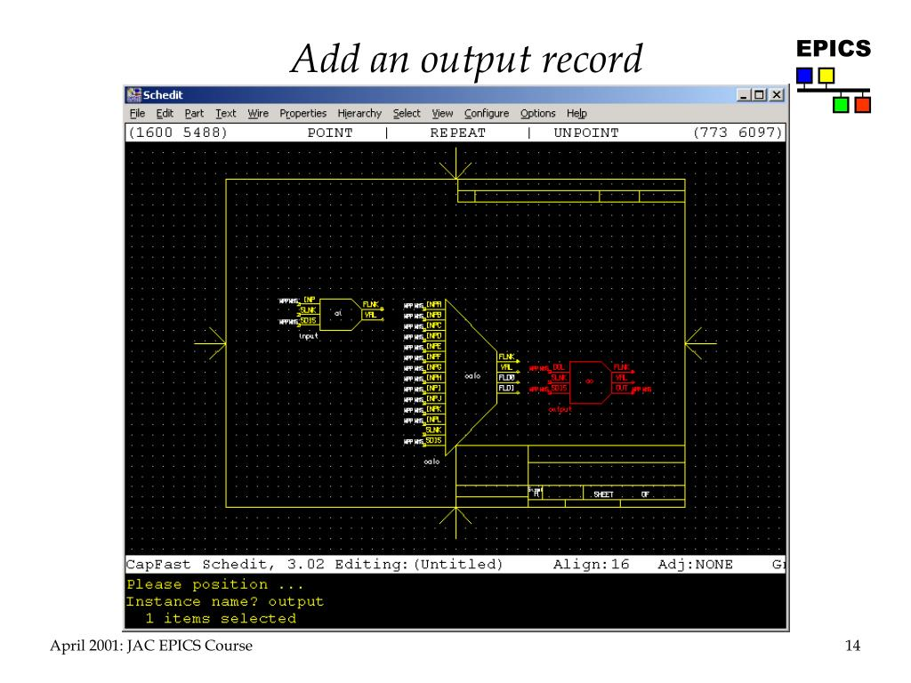 Add an output record