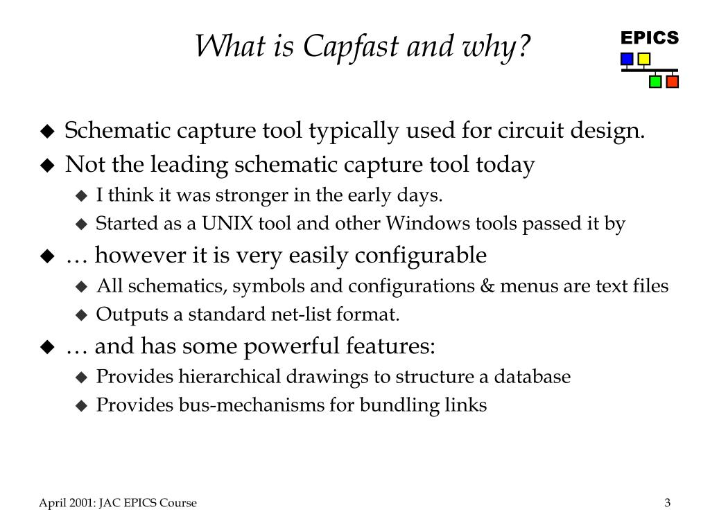 What is Capfast and why?