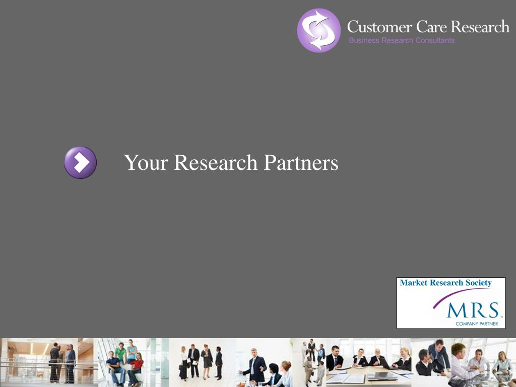 Your Research Partners
