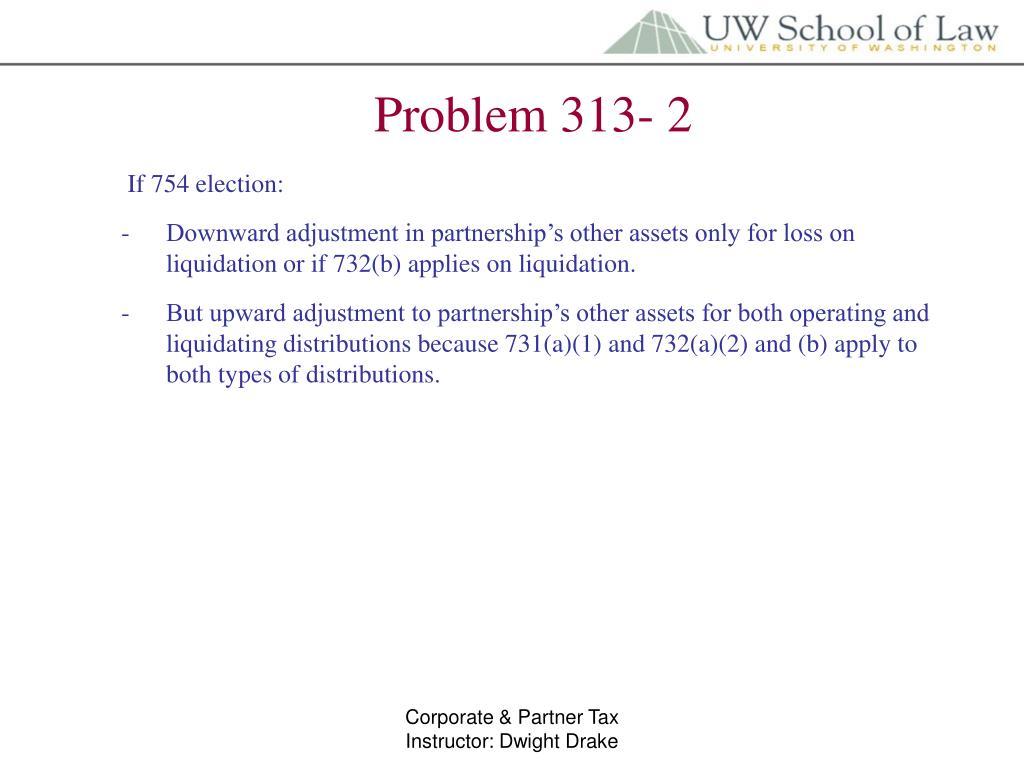 Problem 313- 2
