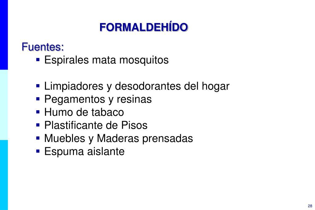 FORMALDEHÍDO