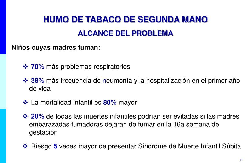 HUMO DE TABACO DE SEGUNDA MANO