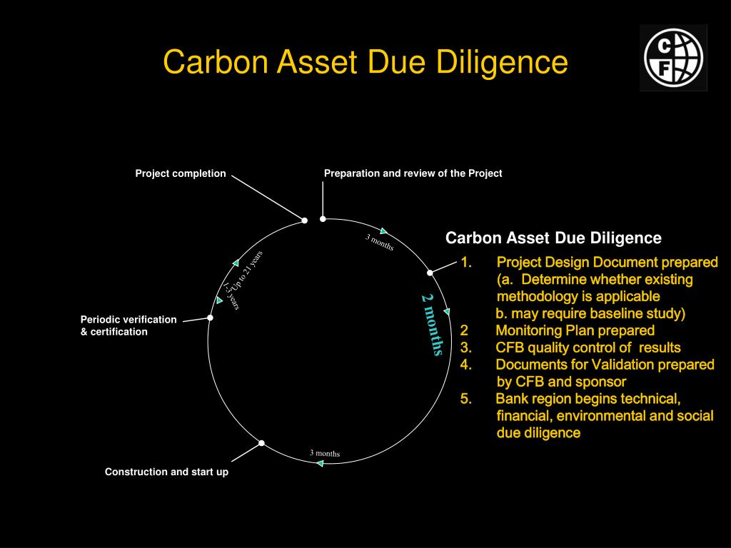 Carbon Asset Due Diligence
