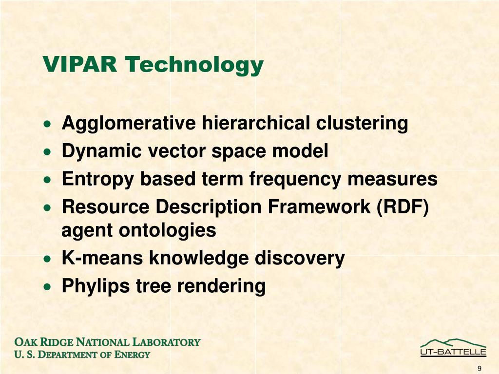 VIPAR Technology