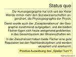 status quo10