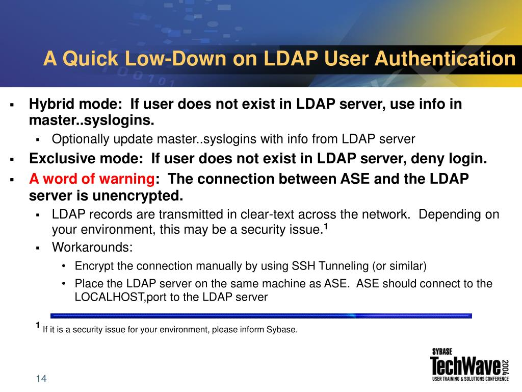 A Quick Low-Down on LDAP User Authentication