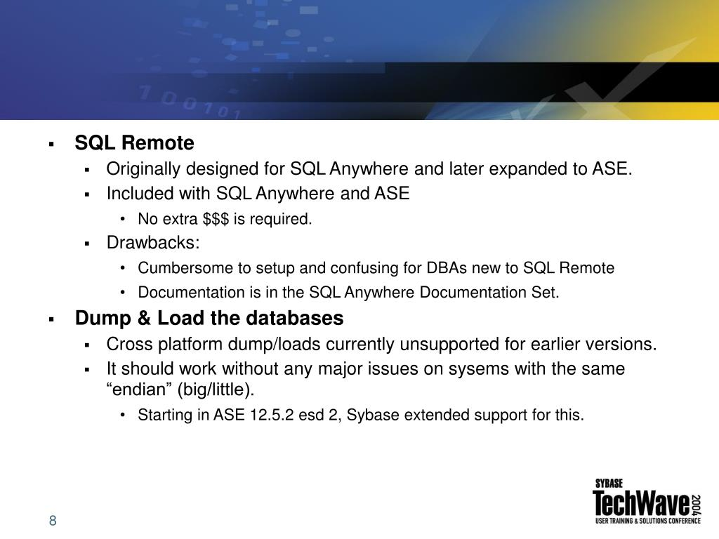 SQL Remote