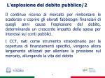 l esplosione del debito pubblico 2