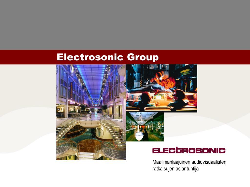 electrosonic group