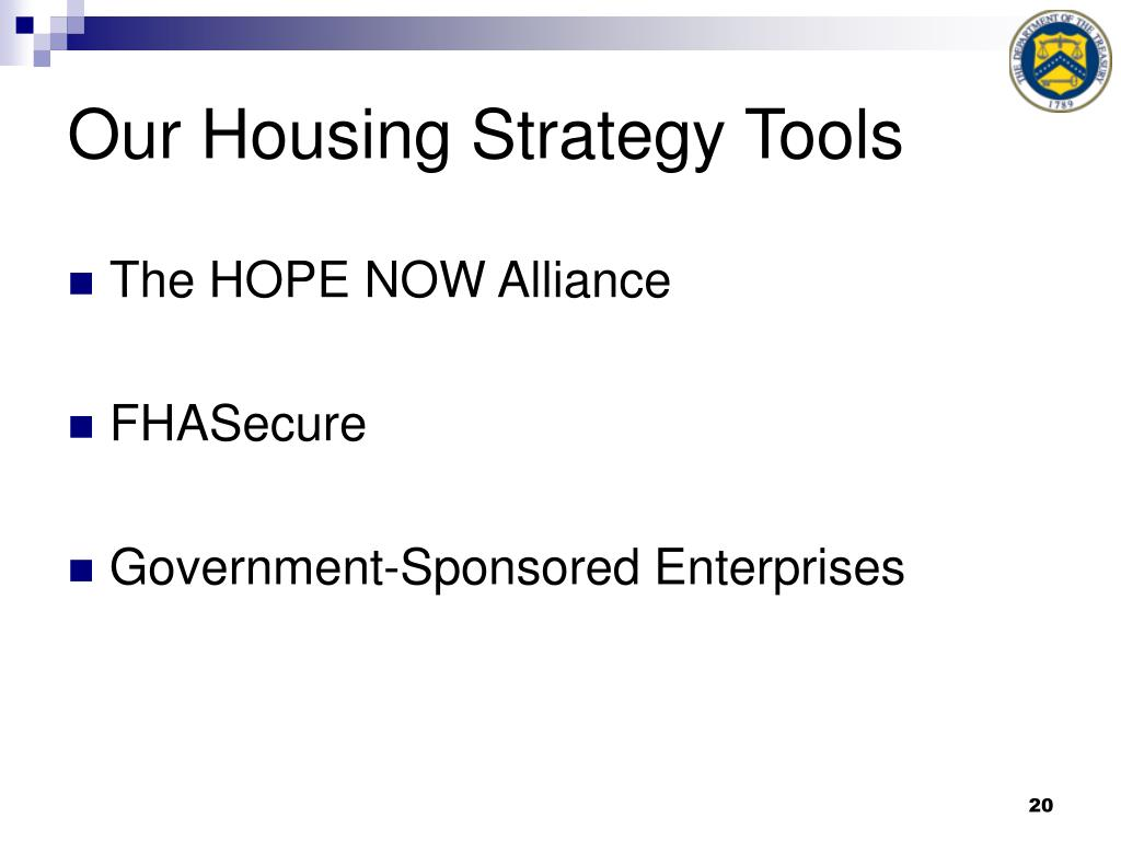 Our Housing Strategy Tools