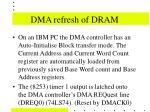 dma refresh of dram23