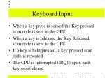 keyboard input35