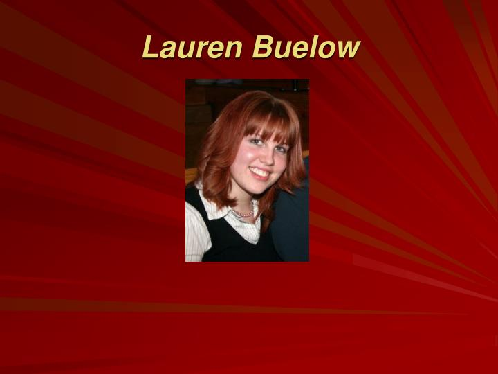 Lauren Buelow