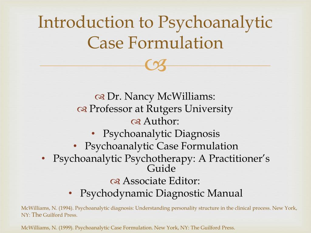 case formulation Work product - case formulation for a sample of the case conceptualization format showing the questions and information that will be needed, please click the link.
