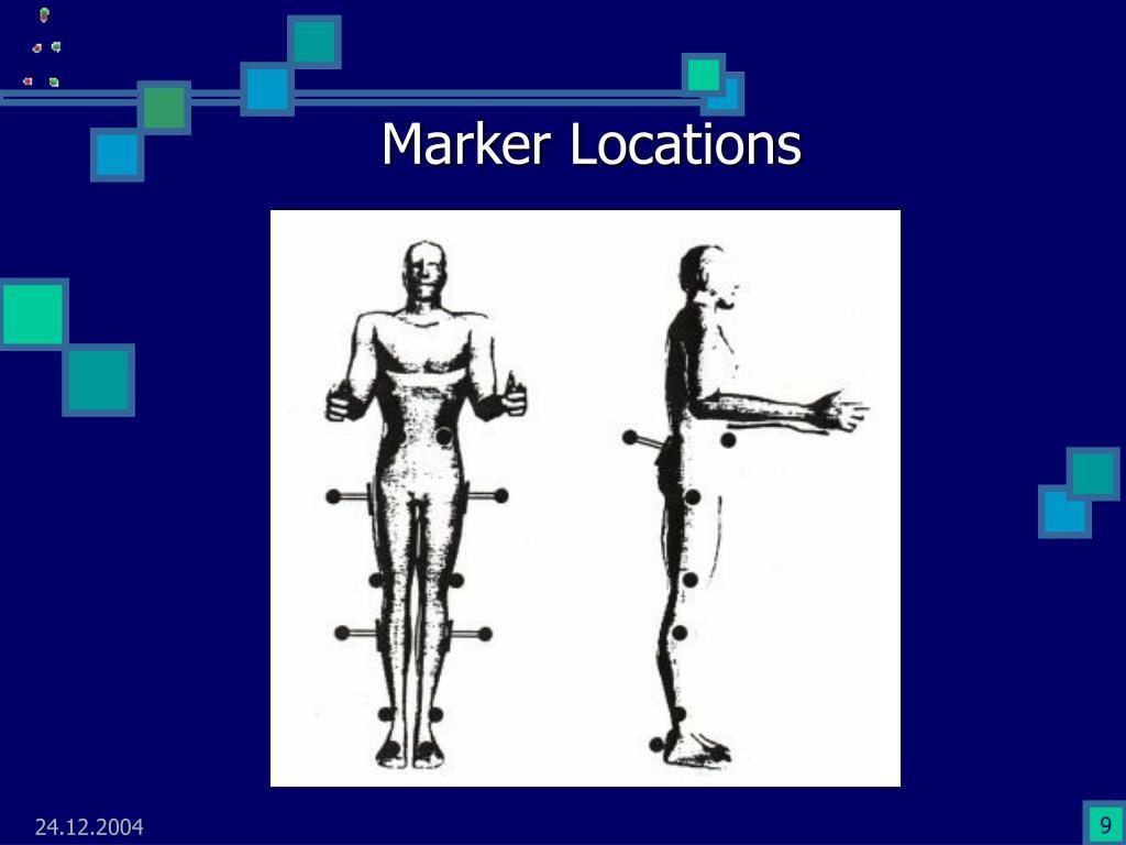 Marker Locations