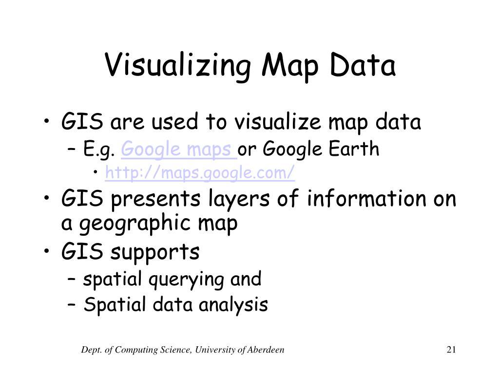 Visualizing Map Data