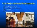 case study armstrong world industries