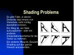 shading problems21