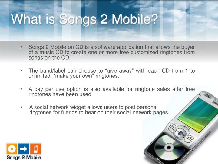 What is songs 2 mobile