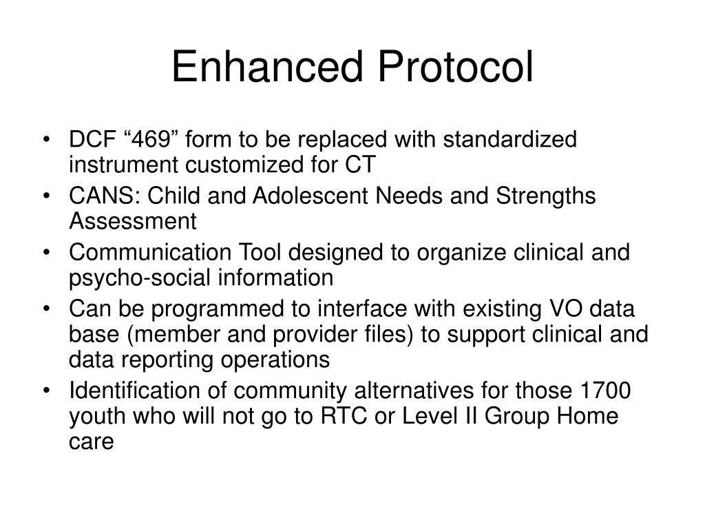 Enhanced Protocol