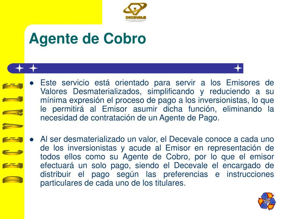 Agente de Cobro