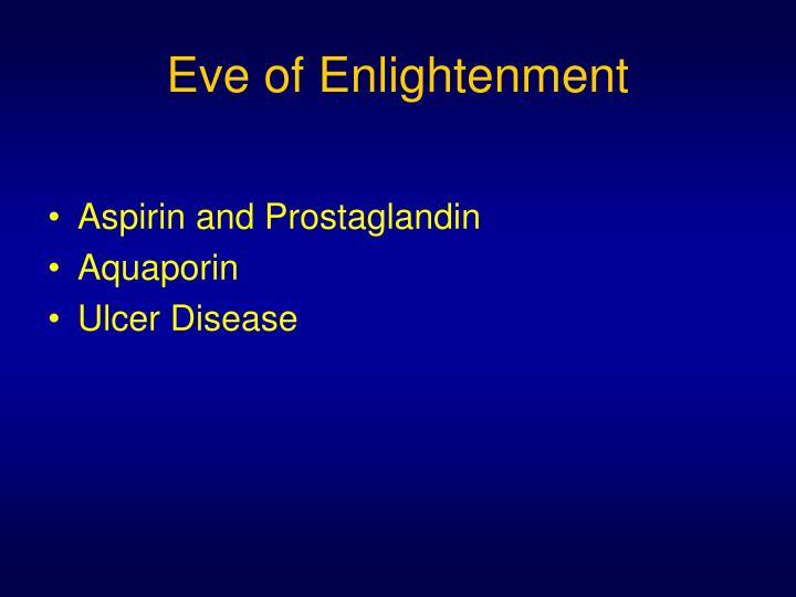Eve of Enlightenment