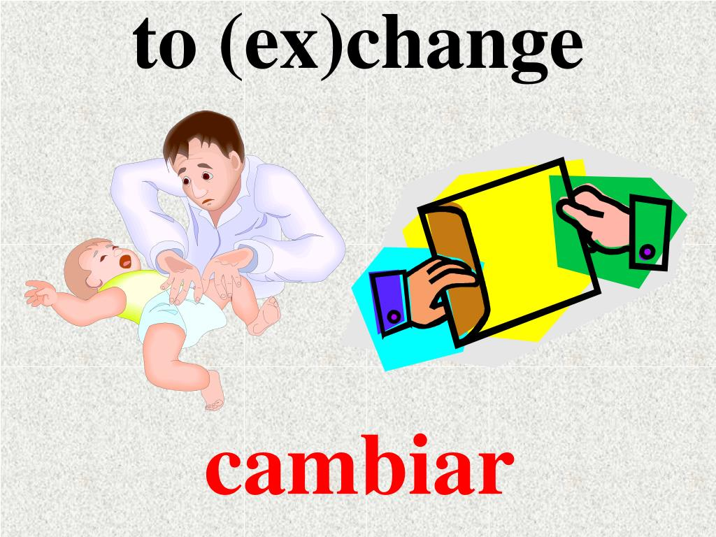 to (ex)change