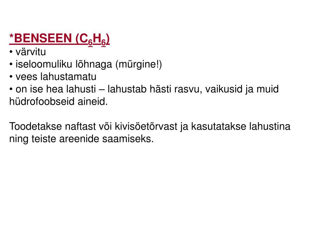 *BENSEEN (C