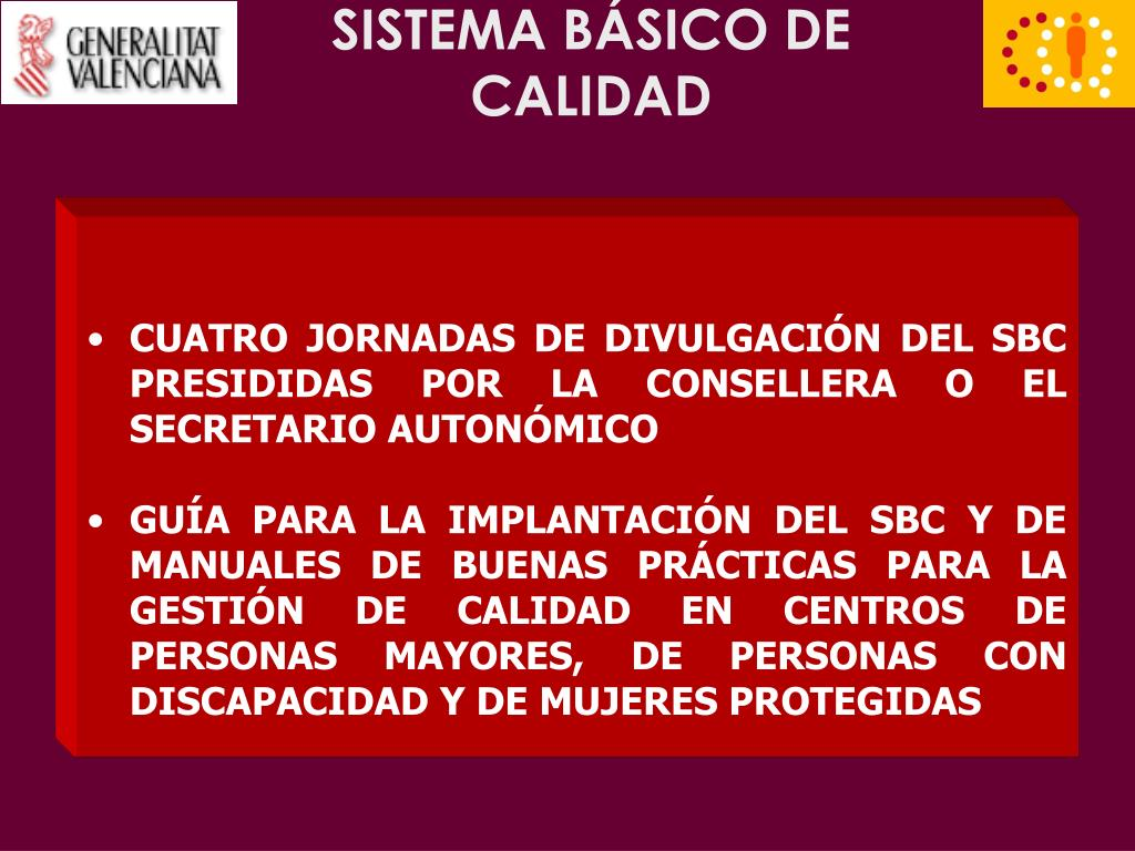SISTEMA BÁSICO DE CALIDAD