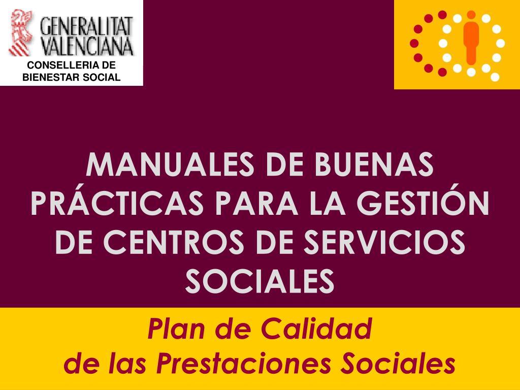 CONSELLERIA DE BIENESTAR SOCIAL