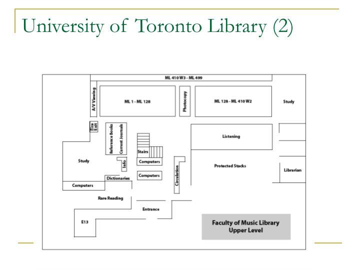 University of Toronto Library (2)