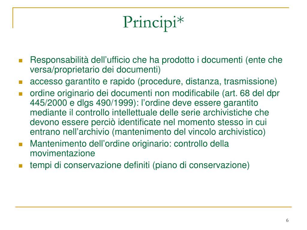 Principi*