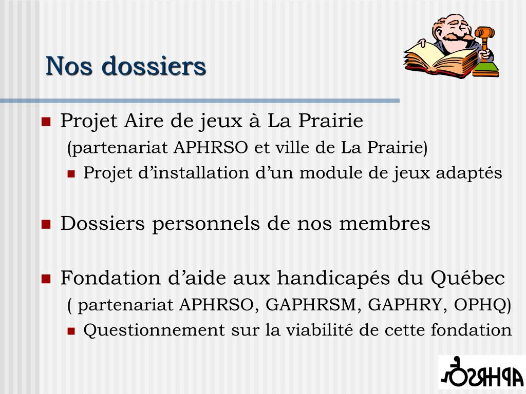 Nos dossiers