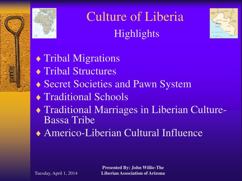 culture of liberia highlights