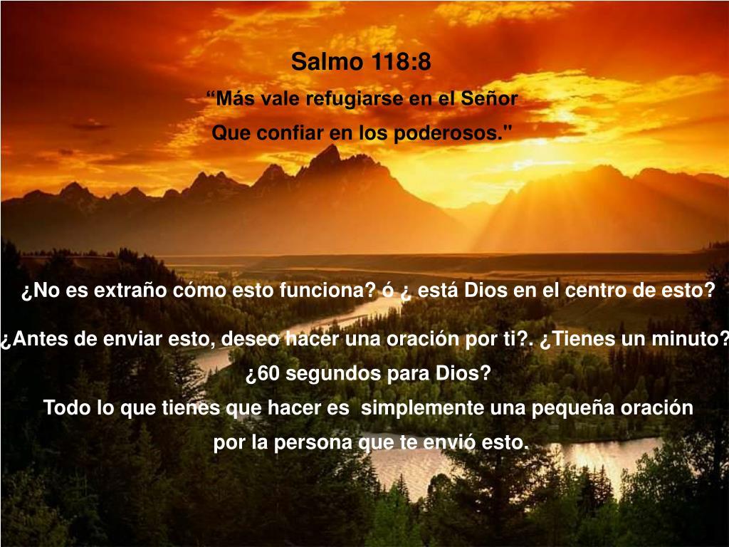 Salmo 118:8