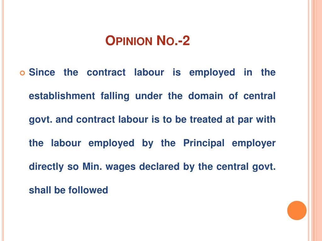 Opinion No.-2