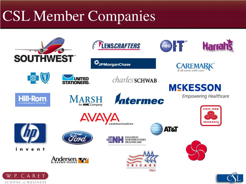 CSL Member Companies