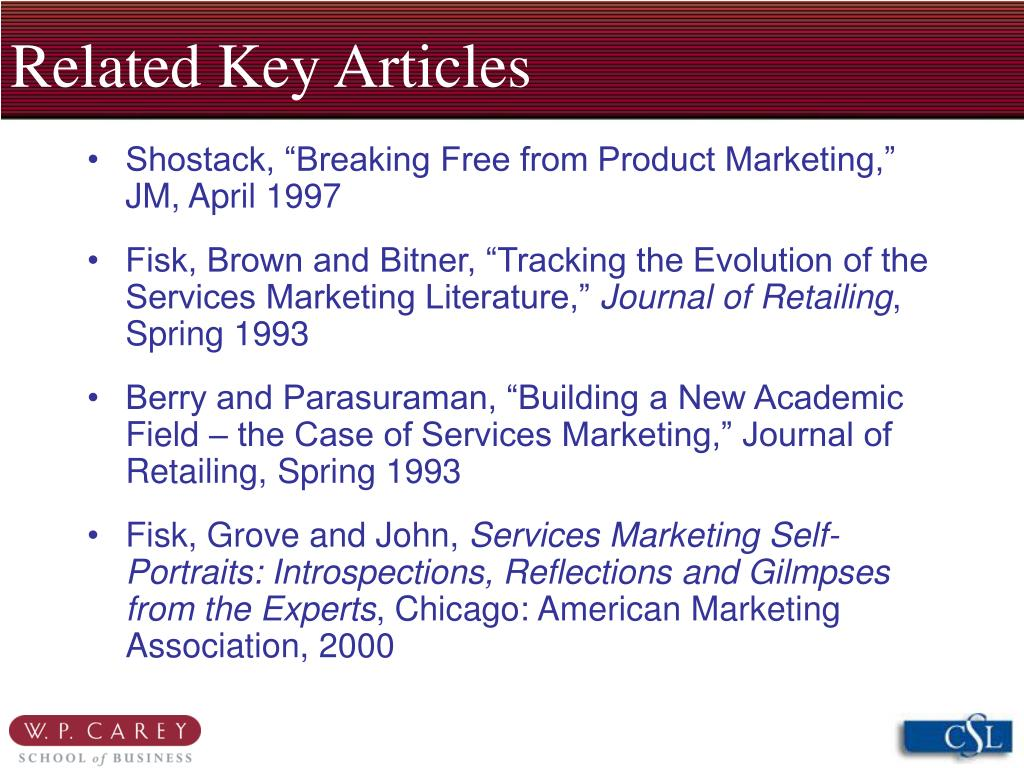 Related Key Articles