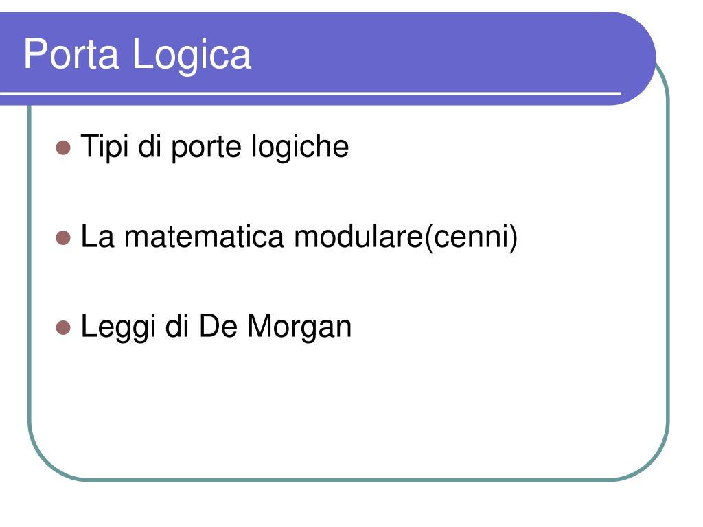 Porta Logica