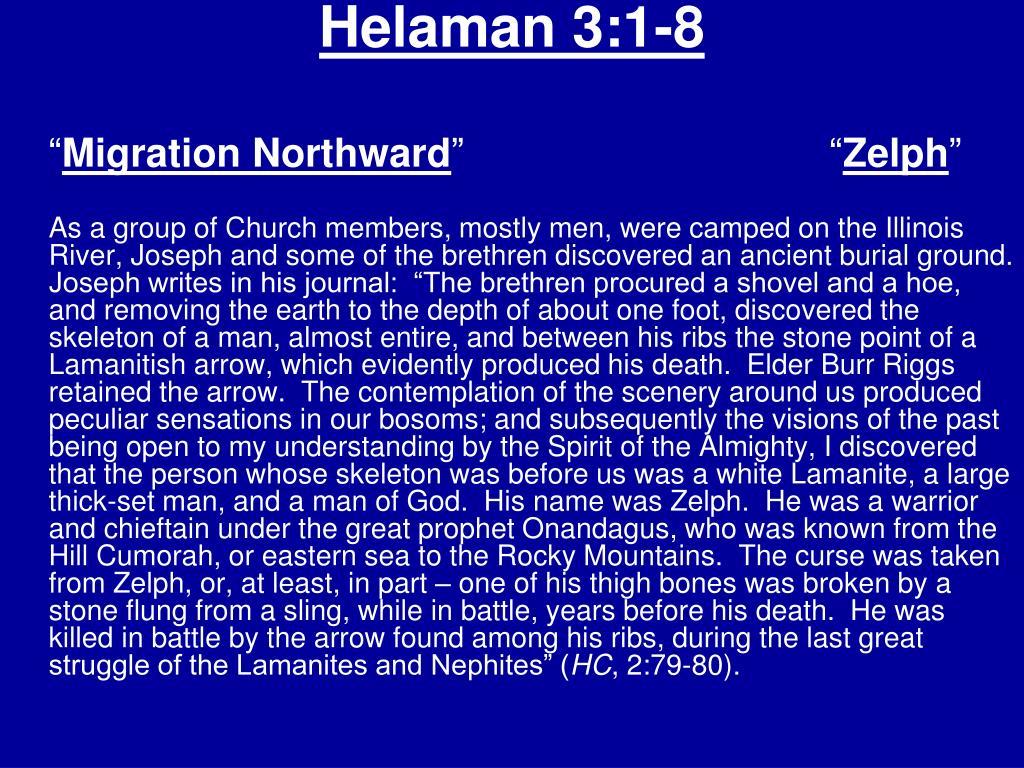 Helaman 3:1-8