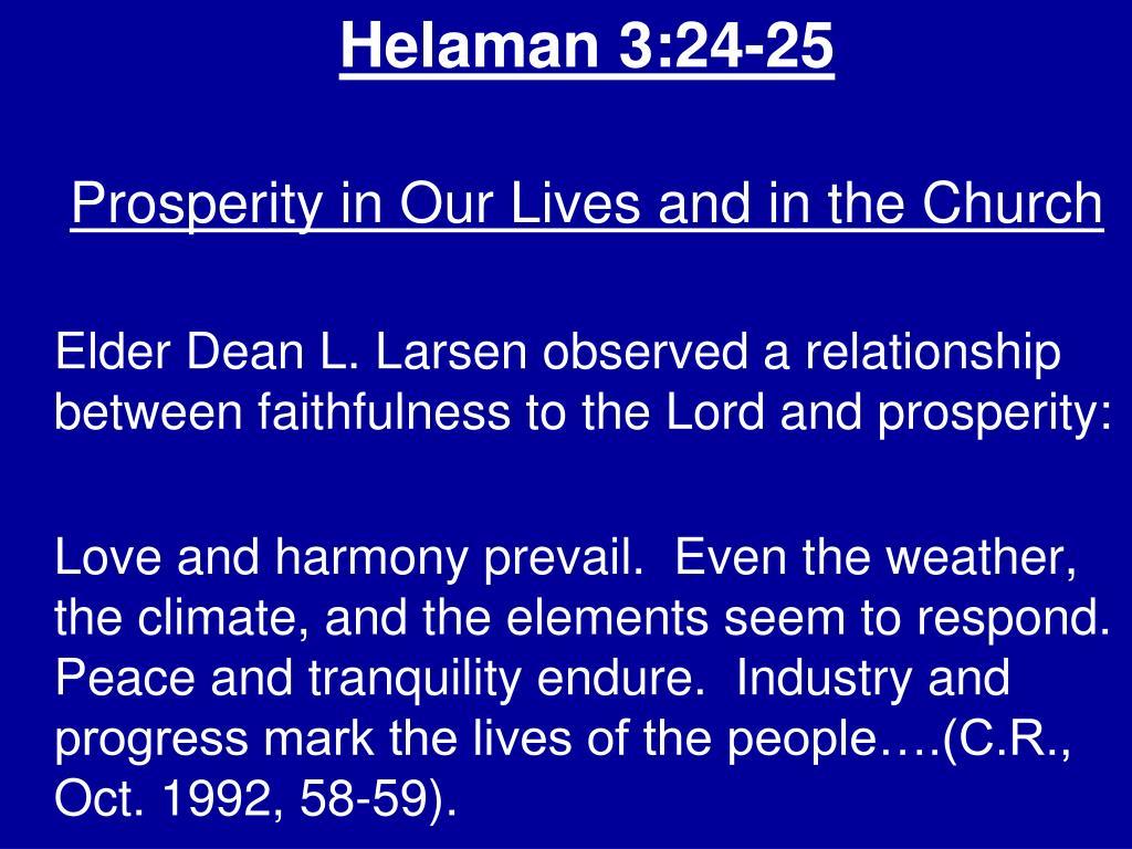 Helaman 3:24-25