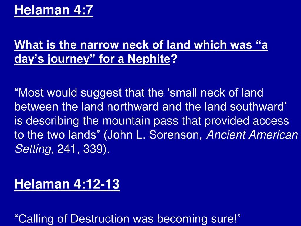 Helaman 4:7