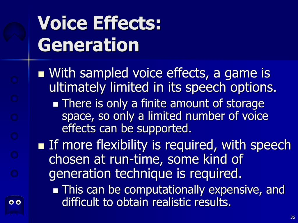 Voice Effects: