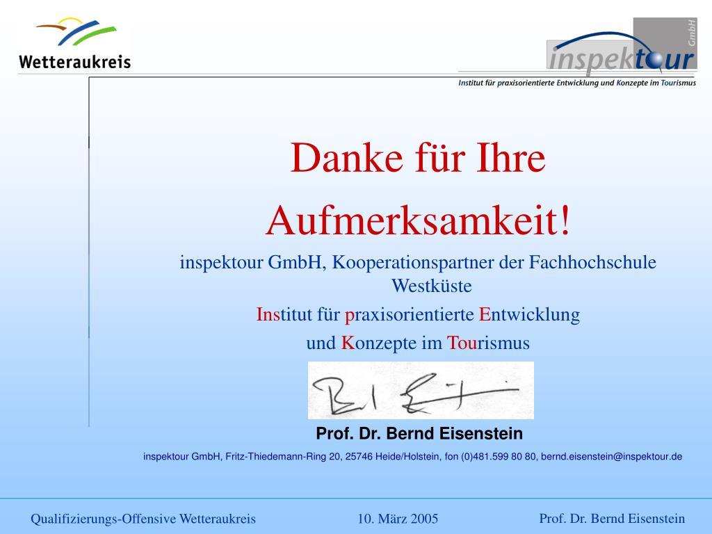 Prof. Dr. Bernd Eisenstein